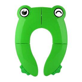 送料無料 Fitnate 2020新型 補助便座 折りたたみ 子供 便携 トイレ 抗菌 滑り止め 挟まれ防止 旅行 外出 トイレトレーニング コンパクトに畳めるオマル 品質保証