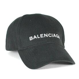 バレンシアガ BALENCIAGA キャップ ブラック ベースボールキャップ ユニセックス Lサイズ 定番モデル HAT BASEBALL BLACK 529192 310B5 1077 L