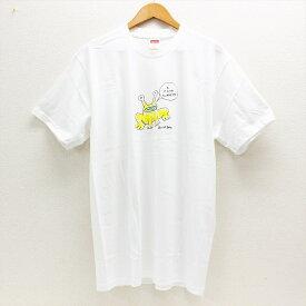 【未使用】 Supreme シュプリーム 20SS ×Daniel Johnston ダニエル ジョンストン Frog Tee 半袖Tシャツ L ホワイト 【中古】 中洲店 A20-842