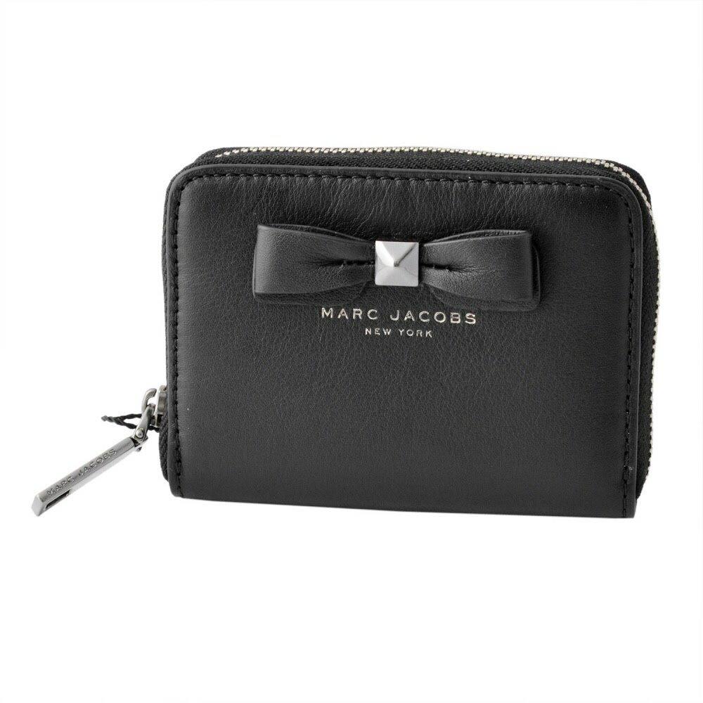 マークジェイコブス MARC JACOBS M0011218-001 Black リボンモチーフ カードケース コインケース 小銭入れ Bow Zip Card Case【MARC JACOBS】【新品】【Brandshop IL】