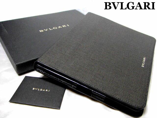 BVLGARI ブルガリ iPadケース タブレットケース ウィークエンド WEEKEND ブラック【未使用】【中古】【新品】