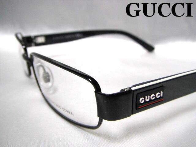 GUCCI メガネフレーム グッチ 眼鏡 めがね メタル メンズ レディース 老眼鏡【未使用】【中古】【新品】