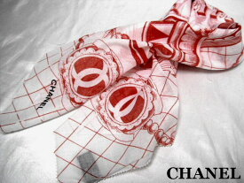 CHANEL シャネル スカーフ ビッグロゴ【新品】【未使用】【中古】