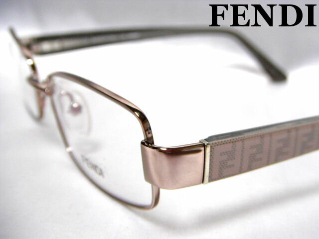 FENDI フェンディ メガネフレーム ライトグレー 眼鏡 めがね 老眼鏡 メンズ レディース【未使用】【中古】【新品】