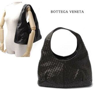 봇테가・베네타 BOTTEGA VENETA 숄더백 인 트레이닝 차트 블랙 145552 V0016 8175