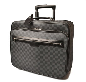 LOUIS VUITTON ルイヴィトン 中古 バッグ ブランドバッグ キャリーバッグ/旅行バッグ ダミエ・グラフィット パイロットケース N23206 スーツケース トロリーバッグギフト プレゼント