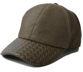 ボッテガヴェネタ キャップ/帽子 BOTTEGA VENETA メンズ ベースボールキャップ アーミーグリーン 495486新生活