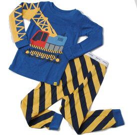 GAP ギャップ キッズ パジャマ/ルームウェア 家着 キッズ 男の子 出産祝い GAP KIDS 長袖上下セット クレーン車