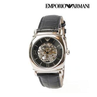 商场阿玛尼 EMPORIO ARMANI 男式手表 (Meccanico) 黑色 AR4633