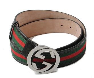 gucci belt. unused gucci belt men\u0027s gucci sherry line green / red black 114984 apparel outlet t