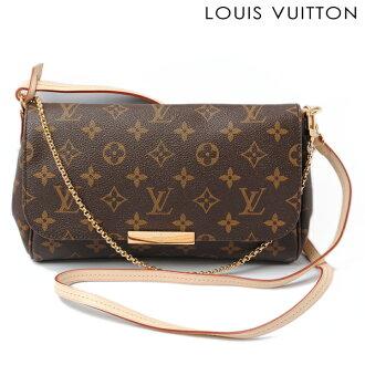 Louis Vuitton Shoulder Bag Clutch Favorite Pm M40717 Monogram Strap With 3 Way