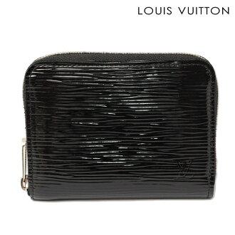 Louis Vuitton 路易 · 威登钱包/卡案例 zippy 男士 EPI,电动黑色 M6015N