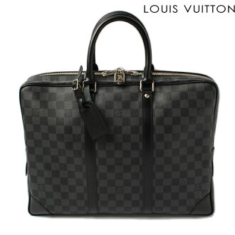 Louis Vuitton portfolio / Briefcase LOUIS VUITTON port document voyage Damien grab fit N41125