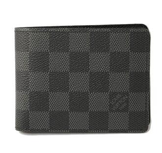 路易 · 威登皮包 / 钱包路易威登钱包/迷你 N63261 双色格子石墨。