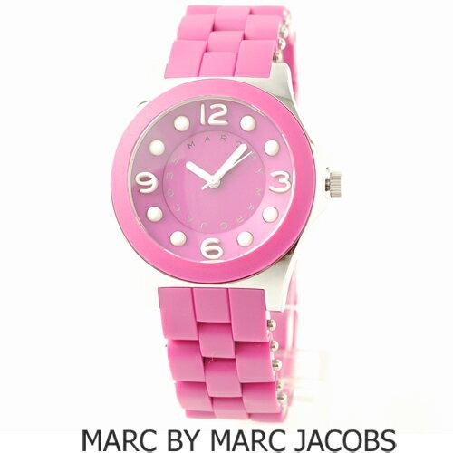 【セール★送料無料】MARC BY MARC JACOBS(マークバイマークジェイコブス)腕時計 SS ピンク/ホワイト MBM2504【楽ギフ_包装】【smtb-TK】