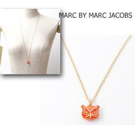 マークバイマークジェイコブス MARC BY MARC JACOBSロングネックレス アクセサリー ゴールド/OWL ふくろう M502126 ギフト プレゼント