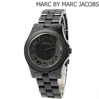 由马克 · 雅各布马克 (Marc 的 Marc Jacobs) 手表里维拉 (维拉) 水钻黑色 MBM8529