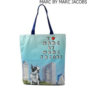 マークバイマークジェイコブス ショッピングバッグ/エコバッグ  MARC BY MARC JACOBS ジェット セット ペッツ M0003017 ドッグ アイスブルー ギフト プレゼント
