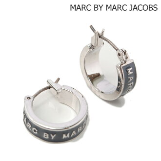 Marc by Marc Jacobs MARC BY MARC JACOBS earrings logo STEEL / steel M3PE552 accessories