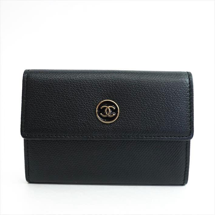 【美品】CHANEL シャネル ココボタン A27280 レザー 財布・バッグ小物 コインケース【中古】