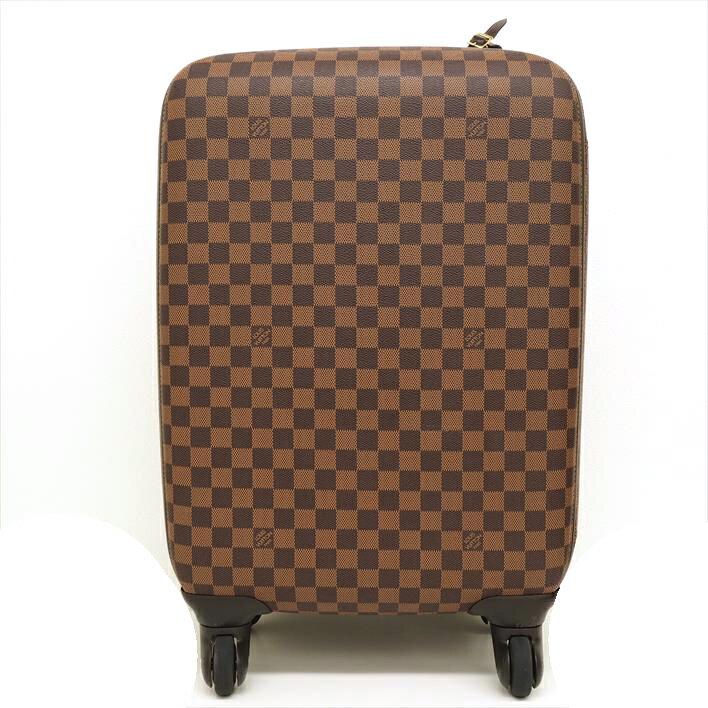 【美品】LOUIS VUITTON ルイヴィトン ゼフィール55 ダミエ N23004 ダミエキャンバス 男女兼用バッグ スーツケース【中古】