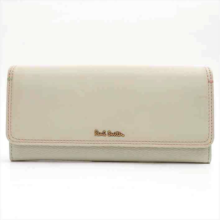 【美品】Paul Smith PWU585 牛革 メンズ 二つ折り財布【中古】バレンタインデー ギフト