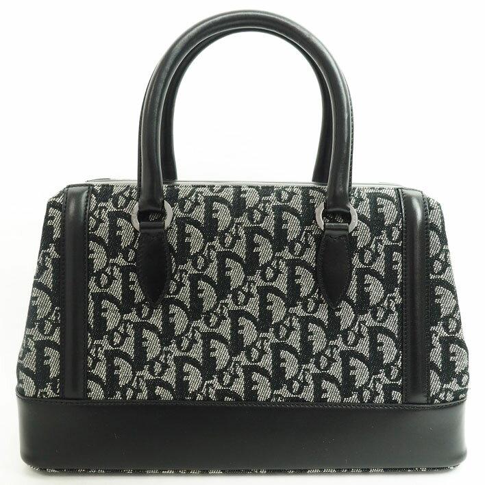 【美品】Christian Dior クリスチャン・ディオール ハンドバッグ トロッター レディース ボストンバッグ【中古】