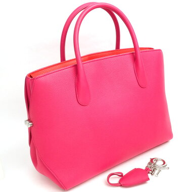 [Goods] ChristianDior Christian Dior Open Birdy All Bar Handbag M1057 Ladies Bag Tote Bag [pre-owned]