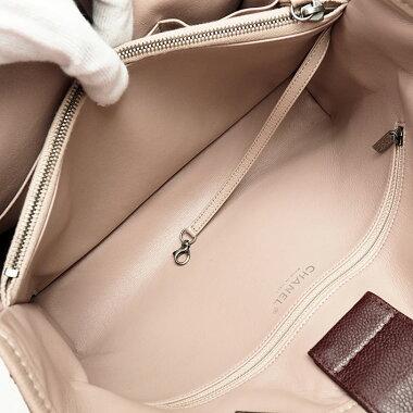 [美 品] Chanel medium shopping tote Shoulder gunmetal Matrasse A 90451 Women's [shoulder bag] [pre]