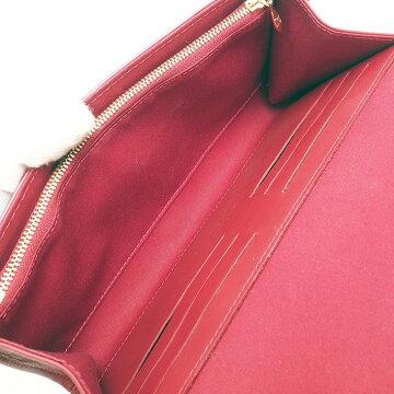 [美 品] Louis Vuitton Rothmore with MM Strap Wallet Vernis M91550 Women's [Handbag] [Pre-owned]