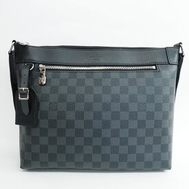 [Carefully selected products] [Used] [Good Condition] Louis Vuitton Mick PM NM Damier Graphite N40003 Men [Shoulder Bag] Gift Present