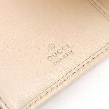 【ほぼ新品】グッチ三つ折り財布GGマーモント404302・2149レディース【二つ折り財布】【中古】