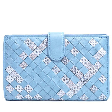 [Almost new] Bottega Veneta Continental Wallet Inlet Chart 121060VV211 Ladies [Folded Wallet] [Used]