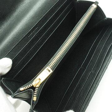 [美 品] Yves Saint Laurent Quilting Stitch Flap Wallet Gold Hardware Classic / Monogram 372264 BRM 071000 Women's wallet [Long wallet] [pre]