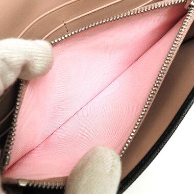 [美 品] Prada Folded Long Wallet with pass case Silver hardware fittings Saffiano 1 MH132 Women's wallet [pre-owned]