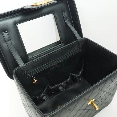 シャネルバニティバッグコスメバッグゴールド金具ビコローレA01620レディース【ハンドバッグ】【中古】