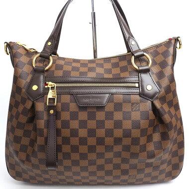 [美 品] Louis Vuitton Evora MM Damier N 41131 Women's [Handbag] [Pre-owned]