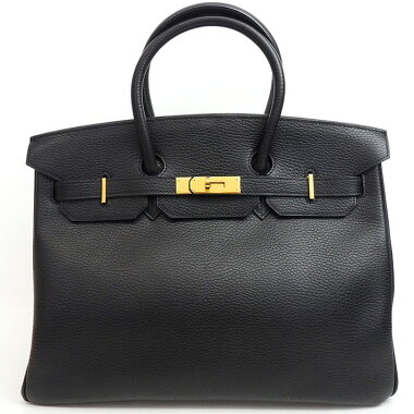 [Good Condition] Hermes 35 Gold Hardware Birkin Ladies [Handbag] [Used]