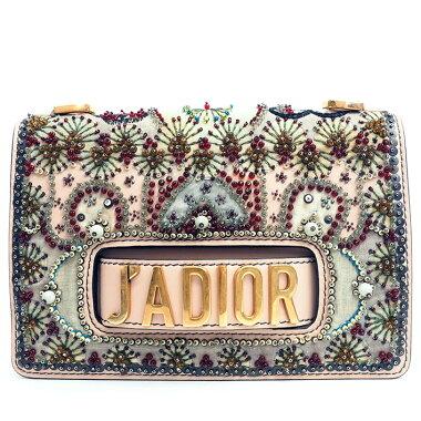 [美 品] Christian Dior 2WAY clutch bag flap bag chain shoulder bead embroidery Ja Dior [shoulder bag] [pre]