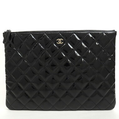 [美 品] Chanel silver fittings Matrasse A 82045 [clutch bag] [pre-owned]