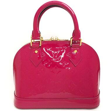 [Good Condition] Louis Vuitton Arma BB Monogram Verni M91771 [Handbag] [Used]