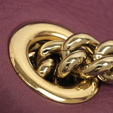 [Goods] Sooch with Gucci gold chain shoulder tassel charm 387043 · 498879 [Shoulder bag] [pre-owned]