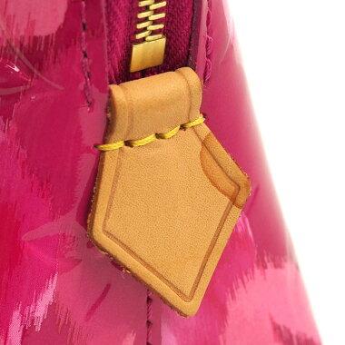 【美品】ルイヴィトンポシェット・コスメティックイカットフラワーヴェルニイカットフラワーM90045【化粧ポーチ】【中古】