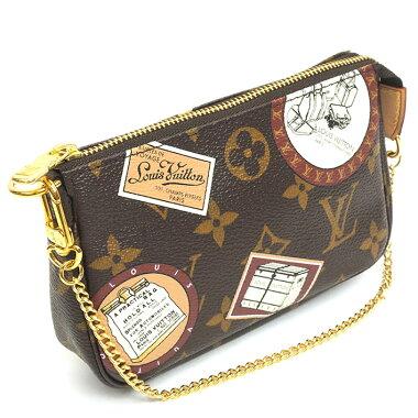 【美 品】 Louis Vuitton Mini Pochette Accesso Sohar Monogram · Patch M95804 【Accessory Pouch】 【Used】