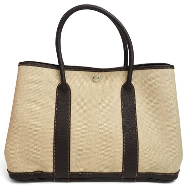 [Good Condition] Hermes MM Garden Party [Tote Bag] [Used]
