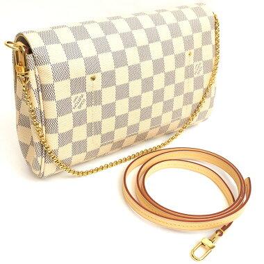 [Beautiful goods] Louis Vuitton Faybolit MM Damier Azur N 41275 [shoulder bag] [pre]