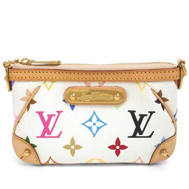 [Good Condition] Louis Vuitton Pochette Miramonogram Multicolor M60098 [Accessory Pouch] [Used]