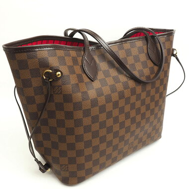 【Goods】 Louis Vuitton Neverfull MM Damier N51105 [Tote bag] [pre-owned]