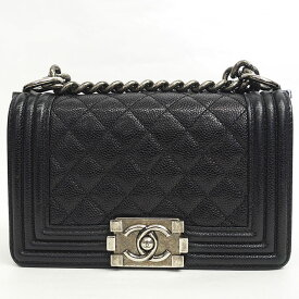 [Carefully selected products] [Used] [Good Condition] Chanel Chain Shoulder Small Antique Silver Hardware Boy Chanel A67085 [Shoulder Bag] Gift Present