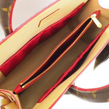 【美品】ルイヴィトンクリスチャンルブタンコラボアイコノクラストショッピングバッグモノグラムM41234【ハンドバッグ】【中古】